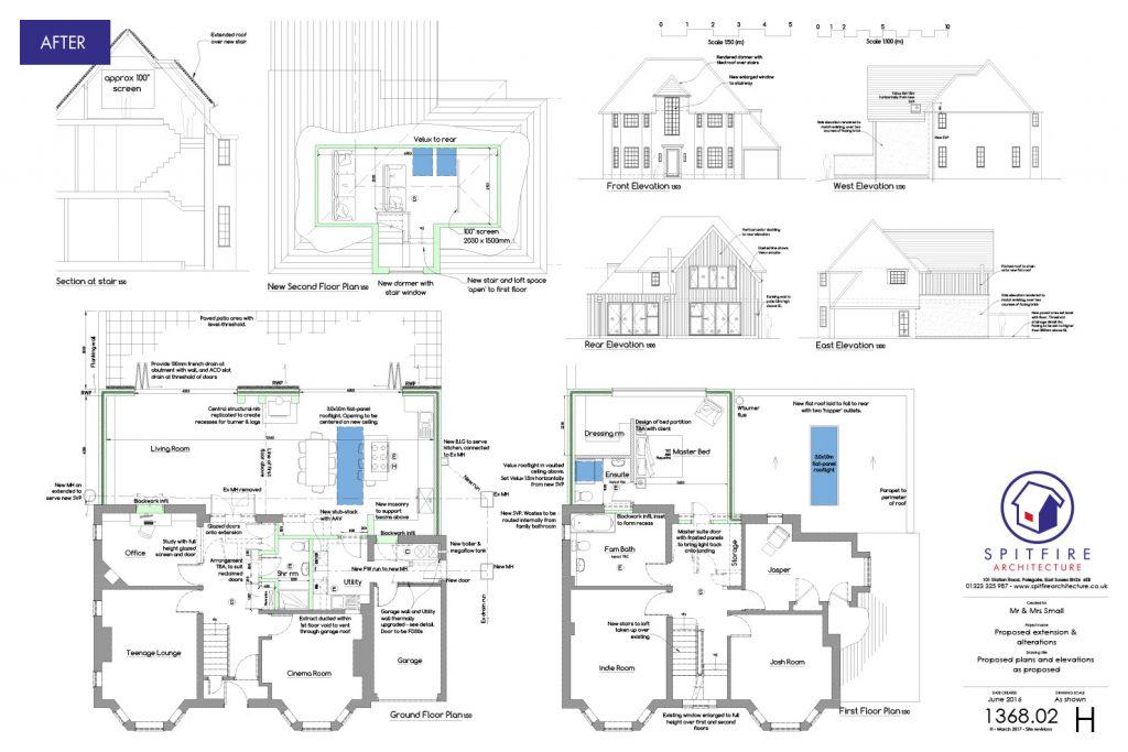 Kings Drive, Eastbourne - Proposal Plan