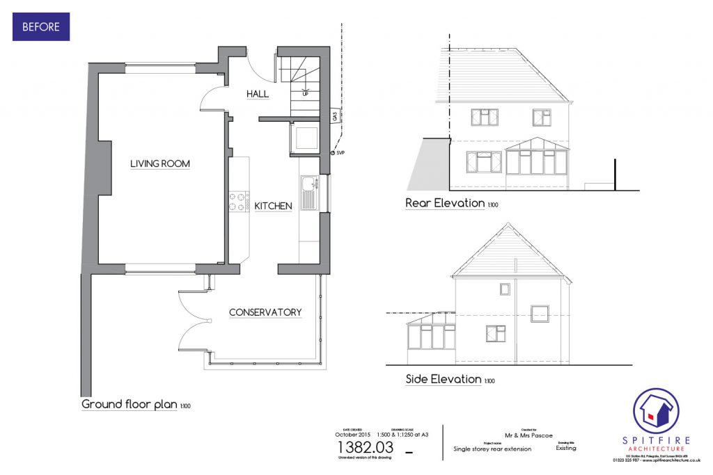 Maderia Drive, Hastings - Existing Plan