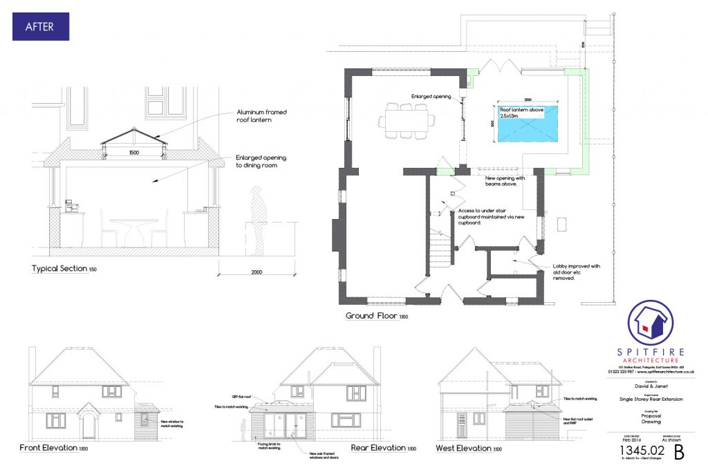 Ratton Drive, Eastbourne - Proposal Plans